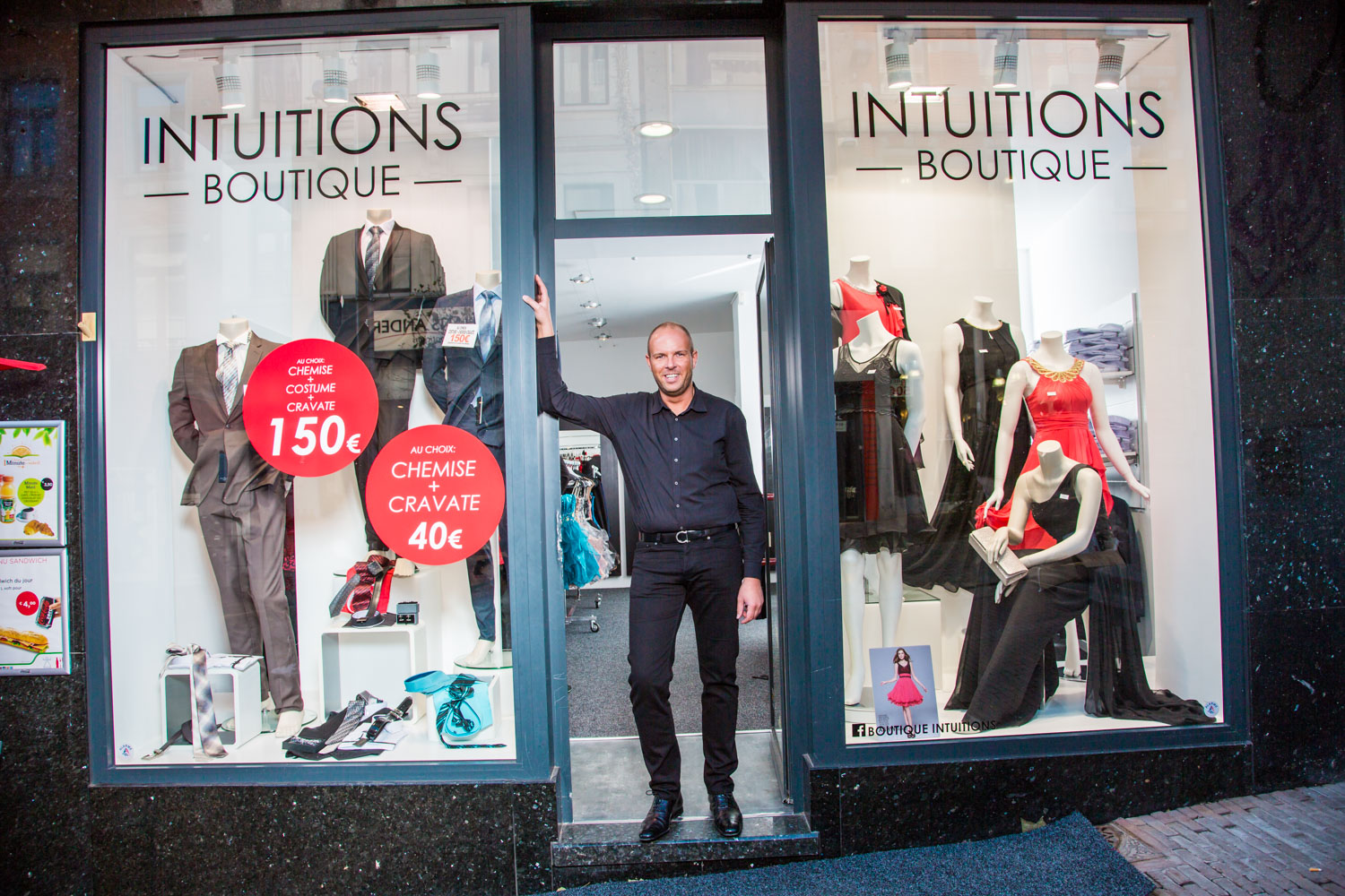 Boutique intuitions vêtements Client microStart